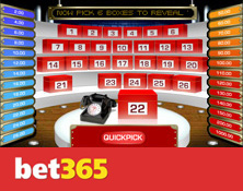 Play Deal or No Deal at Bet365