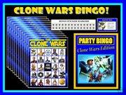 Star Wars Clone Wars Bingo
